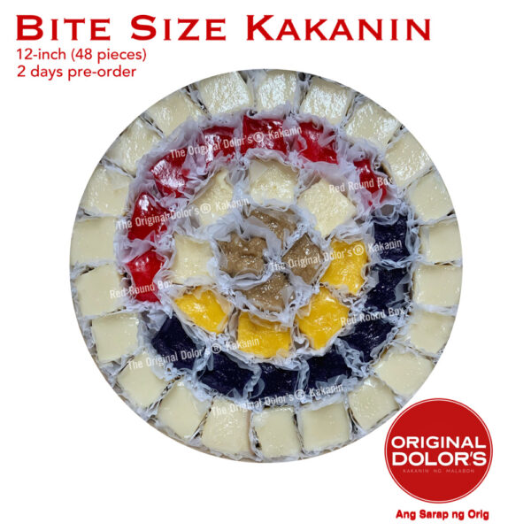 Bite Size Kakanin 12