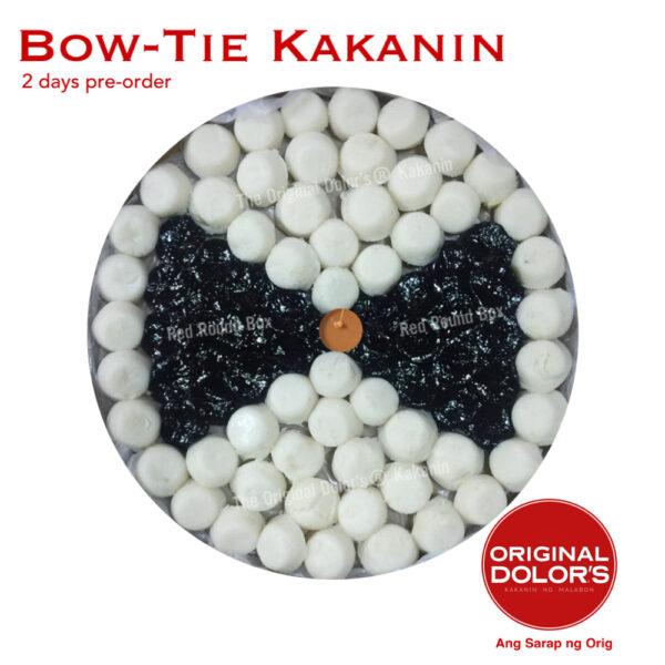 Bow-tie Kakanin