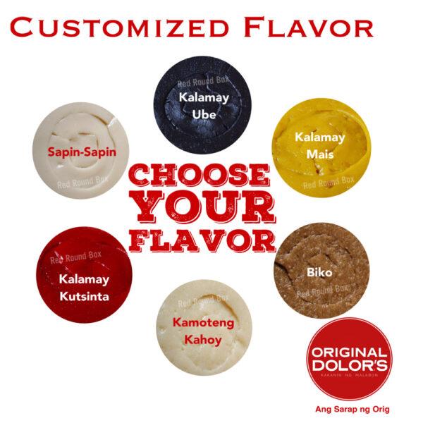 Customized Flavor